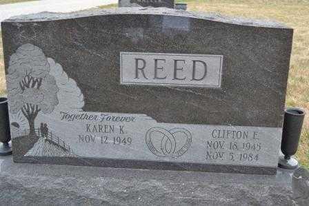 REED, KAREN - Union County, Ohio | KAREN REED - Ohio Gravestone Photos