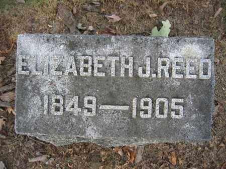 REED, ELIZABETH J. - Union County, Ohio | ELIZABETH J. REED - Ohio Gravestone Photos