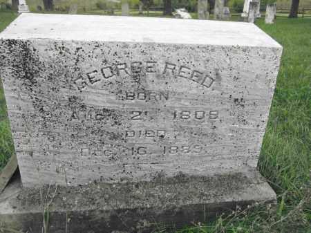 REED, GEORGE - Union County, Ohio | GEORGE REED - Ohio Gravestone Photos