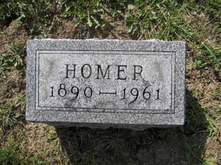 REED, HOMER N. - Union County, Ohio | HOMER N. REED - Ohio Gravestone Photos