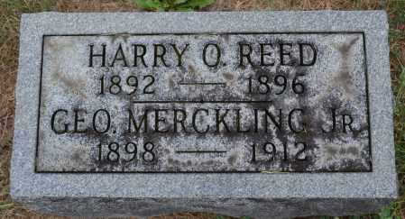 MERCKLING, GEORGE - Union County, Ohio   GEORGE MERCKLING - Ohio Gravestone Photos