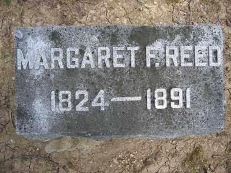 REED, MARGARET F. - Union County, Ohio   MARGARET F. REED - Ohio Gravestone Photos