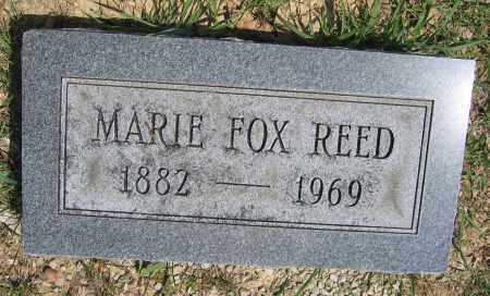 REED, MARIE FOX - Union County, Ohio | MARIE FOX REED - Ohio Gravestone Photos