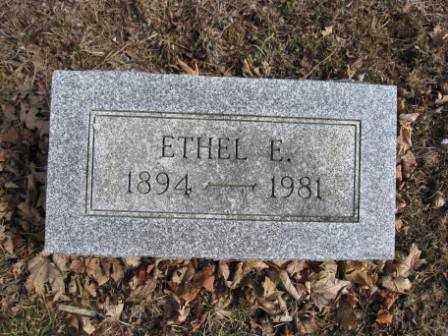 REITER, ETHEL E. - Union County, Ohio | ETHEL E. REITER - Ohio Gravestone Photos