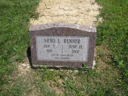 RENNER, ARNO L. - Union County, Ohio | ARNO L. RENNER - Ohio Gravestone Photos