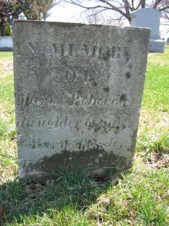 RESSLER, MARY REBECCA - Union County, Ohio | MARY REBECCA RESSLER - Ohio Gravestone Photos