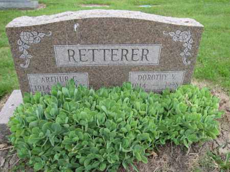 RETTERER, DOROTHY V. - Union County, Ohio | DOROTHY V. RETTERER - Ohio Gravestone Photos