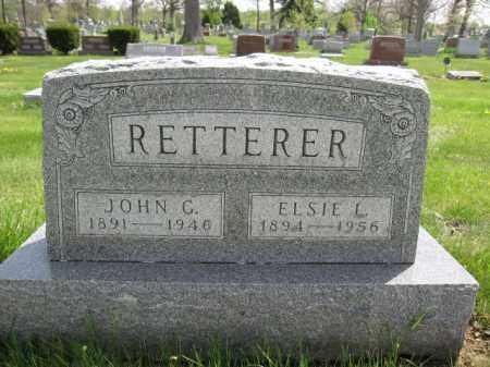 RETTERER, JOHN C. - Union County, Ohio | JOHN C. RETTERER - Ohio Gravestone Photos