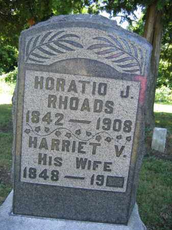 RHOADS, HARRIET V. - Union County, Ohio | HARRIET V. RHOADS - Ohio Gravestone Photos