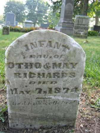 RICHARDS, INFANT GIRL - Union County, Ohio | INFANT GIRL RICHARDS - Ohio Gravestone Photos