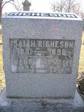 RICHESON, ISAIAH - Union County, Ohio | ISAIAH RICHESON - Ohio Gravestone Photos