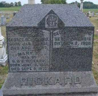 RICKARD, ELIZA - Union County, Ohio   ELIZA RICKARD - Ohio Gravestone Photos