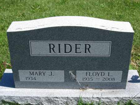 RIDER, FLOYD L. - Union County, Ohio | FLOYD L. RIDER - Ohio Gravestone Photos