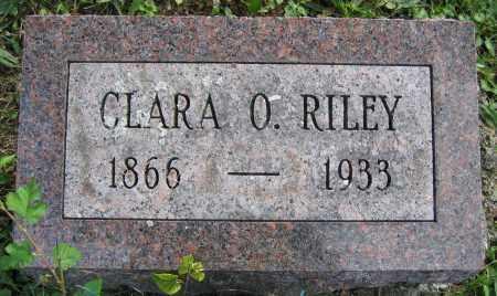 RILEY, CLARA O. - Union County, Ohio | CLARA O. RILEY - Ohio Gravestone Photos