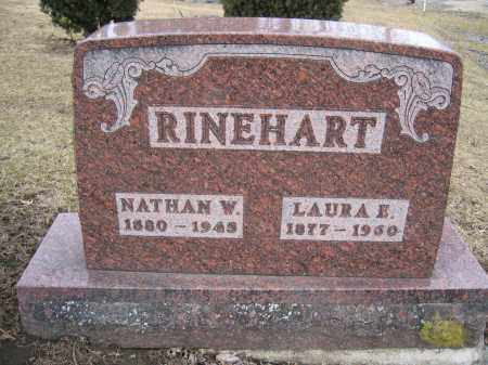 RINEHART, LAURA E. - Union County, Ohio | LAURA E. RINEHART - Ohio Gravestone Photos