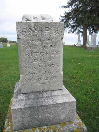 RITCHEY, DAVID B. - Union County, Ohio | DAVID B. RITCHEY - Ohio Gravestone Photos