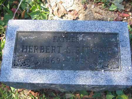 RITCHIE, HERBERT S. - Union County, Ohio | HERBERT S. RITCHIE - Ohio Gravestone Photos
