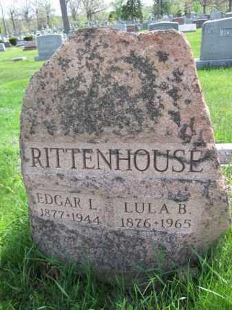 RITTENHOUSE, EDGAR L. - Union County, Ohio | EDGAR L. RITTENHOUSE - Ohio Gravestone Photos