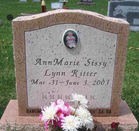 RITTER, ANN MARIE LYNN - Union County, Ohio   ANN MARIE LYNN RITTER - Ohio Gravestone Photos