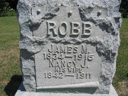 ROBB, JAMES M. - Union County, Ohio | JAMES M. ROBB - Ohio Gravestone Photos