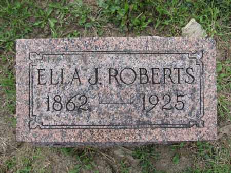 ROBERTS, ELLA J. - Union County, Ohio   ELLA J. ROBERTS - Ohio Gravestone Photos