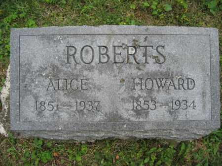 ROBERTS, ALICE - Union County, Ohio | ALICE ROBERTS - Ohio Gravestone Photos