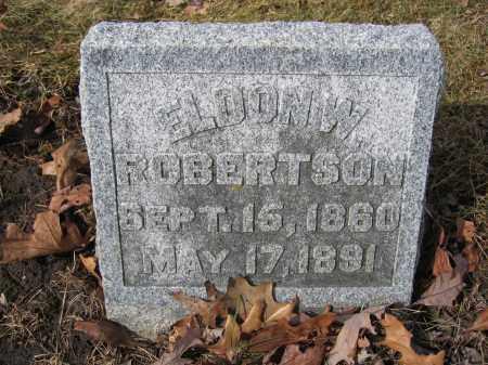 ROBERTSON, ELDON W. - Union County, Ohio | ELDON W. ROBERTSON - Ohio Gravestone Photos