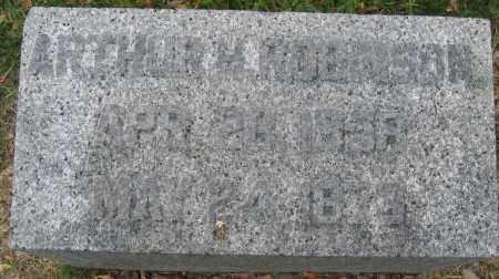 ROBINSON, ARTHUR H. - Union County, Ohio | ARTHUR H. ROBINSON - Ohio Gravestone Photos