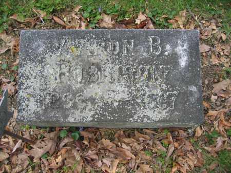 ROBINSON, AARON B. - Union County, Ohio   AARON B. ROBINSON - Ohio Gravestone Photos