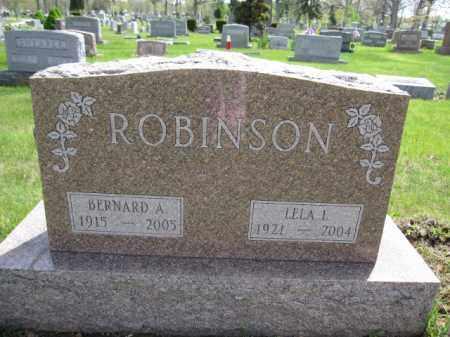 ROBINSON, BERNARD A. - Union County, Ohio   BERNARD A. ROBINSON - Ohio Gravestone Photos