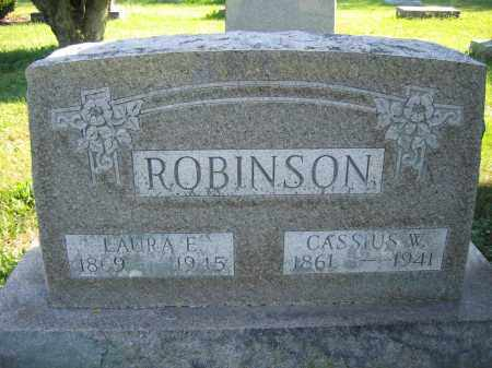 ROBINSON, LAURA E. - Union County, Ohio | LAURA E. ROBINSON - Ohio Gravestone Photos