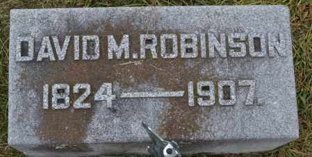 ROBINSON, DAVID M. - Union County, Ohio | DAVID M. ROBINSON - Ohio Gravestone Photos