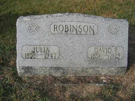 ROBINSON, DAVID R. - Union County, Ohio | DAVID R. ROBINSON - Ohio Gravestone Photos