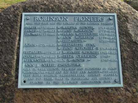 ROBINSON, GEORGE - Union County, Ohio | GEORGE ROBINSON - Ohio Gravestone Photos