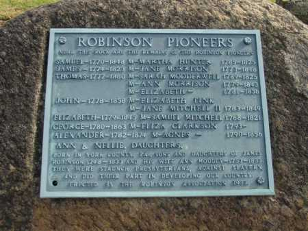 ROBINSON, JAMES - Union County, Ohio | JAMES ROBINSON - Ohio Gravestone Photos