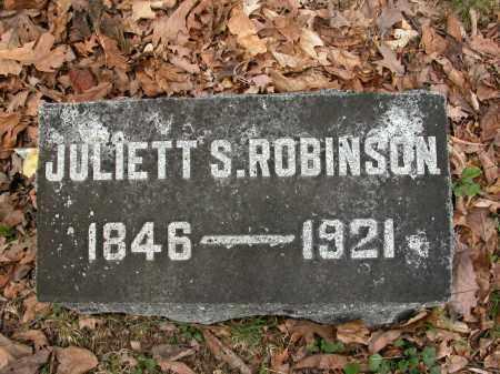 ROBINSON, JULIETT S. - Union County, Ohio | JULIETT S. ROBINSON - Ohio Gravestone Photos