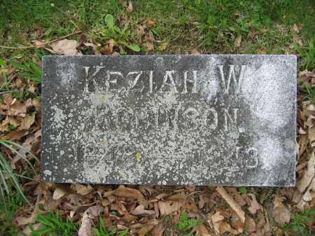 ROBINSON, KEZIAH W. - Union County, Ohio   KEZIAH W. ROBINSON - Ohio Gravestone Photos