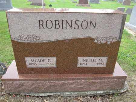 ROBINSON, NELLIE M. - Union County, Ohio | NELLIE M. ROBINSON - Ohio Gravestone Photos
