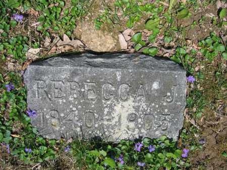 ROBINSON, REBECCA J. - Union County, Ohio | REBECCA J. ROBINSON - Ohio Gravestone Photos