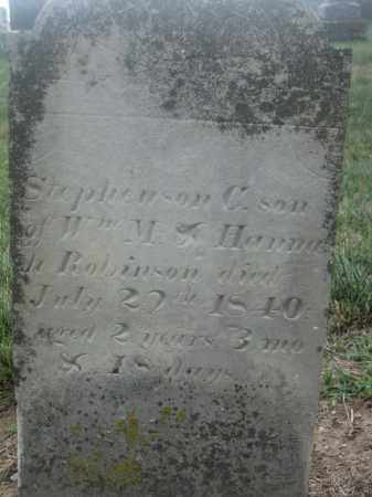 ROBINSON, STEPHENSON C. - Union County, Ohio | STEPHENSON C. ROBINSON - Ohio Gravestone Photos