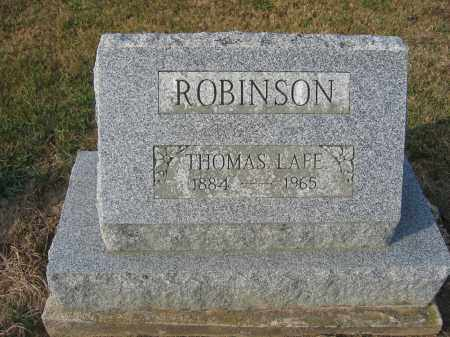 ROBINSON, THOMAS LAFE - Union County, Ohio | THOMAS LAFE ROBINSON - Ohio Gravestone Photos