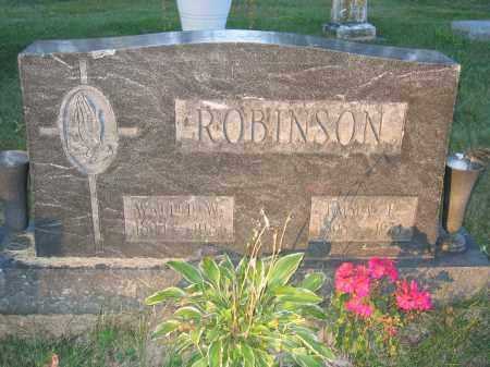 ROBINSON, WALTER W. - Union County, Ohio | WALTER W. ROBINSON - Ohio Gravestone Photos