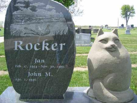 ROCKER, JAN - Union County, Ohio | JAN ROCKER - Ohio Gravestone Photos