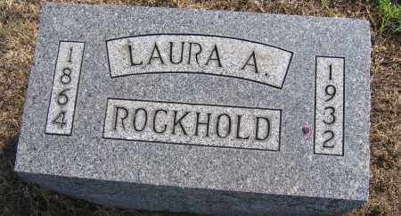 ROCKHOLD, LAURA A. - Union County, Ohio | LAURA A. ROCKHOLD - Ohio Gravestone Photos