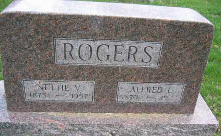 ROGERS, NETTIE V. - Union County, Ohio | NETTIE V. ROGERS - Ohio Gravestone Photos