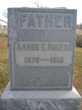 ROGERS, AARON D. - Union County, Ohio   AARON D. ROGERS - Ohio Gravestone Photos