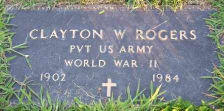 ROGERS, CLAYTON - Union County, Ohio | CLAYTON ROGERS - Ohio Gravestone Photos