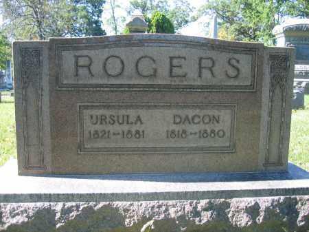 ROGERS, DACON - Union County, Ohio | DACON ROGERS - Ohio Gravestone Photos