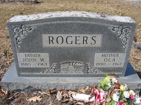 ROGERS, OLA - Union County, Ohio   OLA ROGERS - Ohio Gravestone Photos