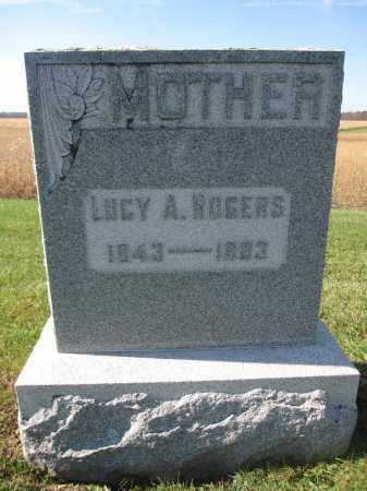 ROGERS, LUCY A. - Union County, Ohio | LUCY A. ROGERS - Ohio Gravestone Photos